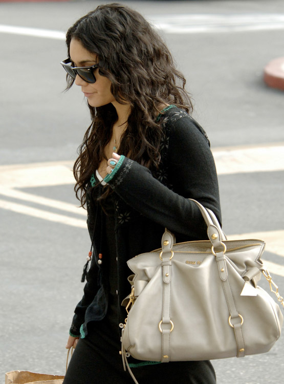 The Many Bags of Vanessa Hudgens (3)