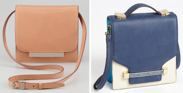 The Row Classic Leather Shoulder Bag vs. the Vince Camuto Julia Crossbody