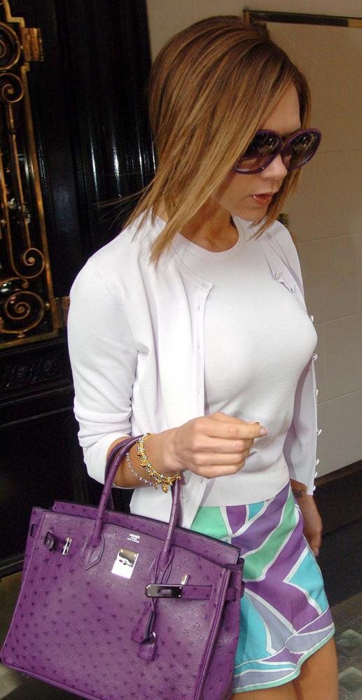 Victoria-Beckham-Hermes-Ostrich-Birkin-Bag-Purple