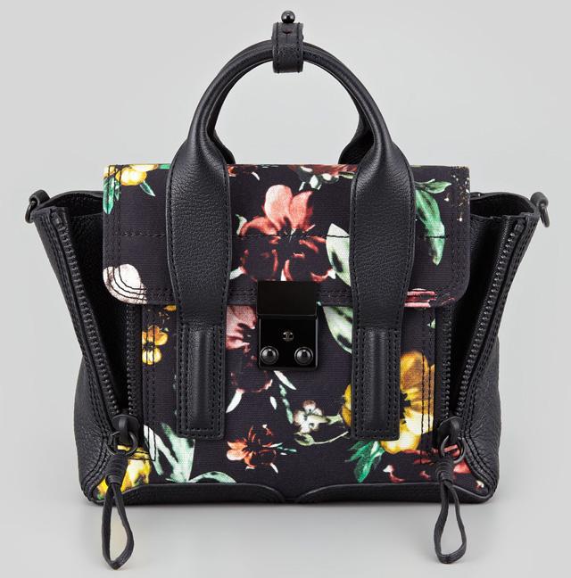 3.1 Phillip Lim Mini Pashli Floral Tote