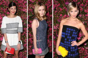 At Chanel's Tribeca Film Festival dinner, literally everyone was carrying Chanel bags