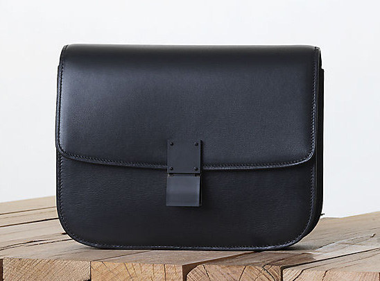 Celine All Black Classic Box Bag Fall 2013