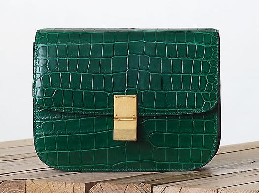 Celine Crocodile Classic Box Bag Fall 2013