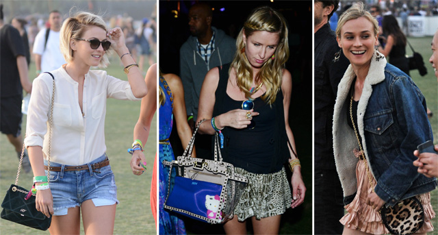 Coachella Celebrity Handbags