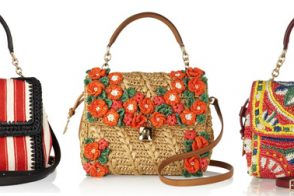 Dolce & Gabbana makes raffia bags look anything but rustic