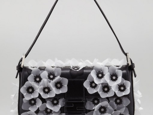 Fendi Jelly Flower Baguette Bag