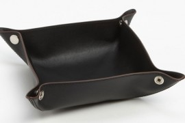 Jack Spade Leather Valet Tray