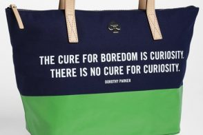 Kate Spade loves Dorothy Parker as much as we do