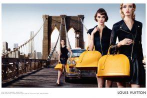 Louis Vuitton taps Karlie Kloss, the Brooklyn Bridge for new Alma Bag campaign