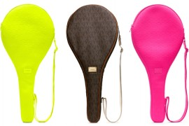 MICHAEL Michael Kors Jet Set Tennis Racket Case
