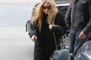 Mary-Kate Olsen steps out in a petite alligator bag from The Row