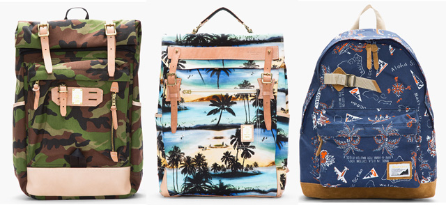 Master-Piece Co Printed Backpacks