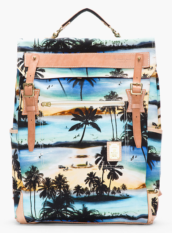 Master-Piece Co Tropical Print Backpack
