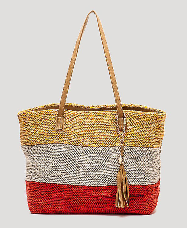 Olivia Harris Colombier Knit Tote