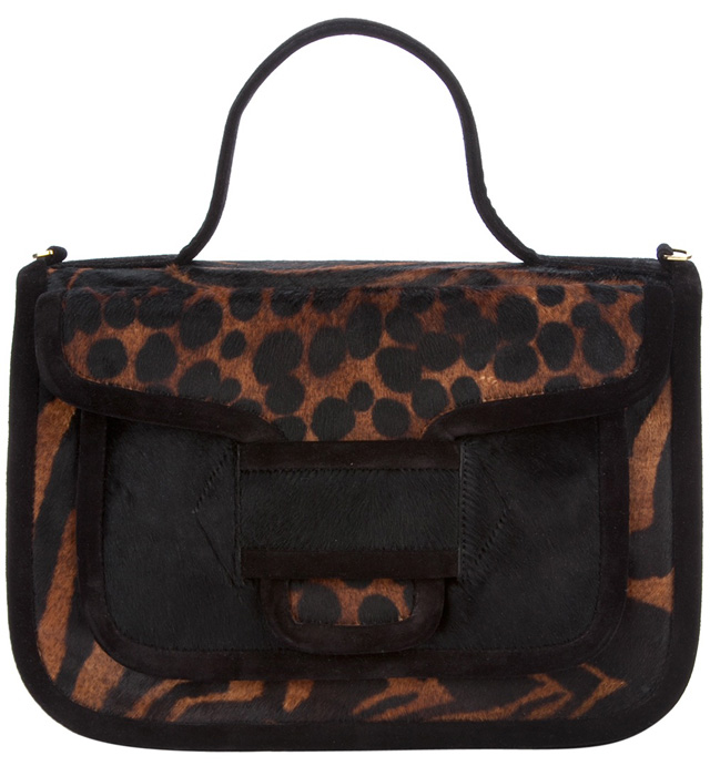 Pierre Hardy Animal Print Bag
