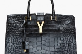 Saint Laurent Alligator Cabas Chyc Tote