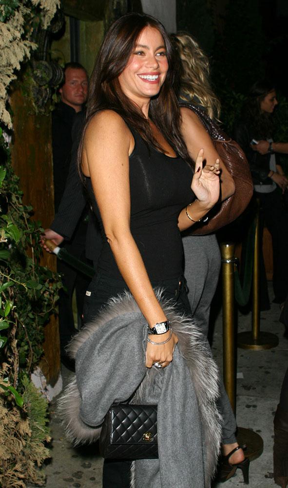 Sofia-Vergara-Chanel-Flap-Bag