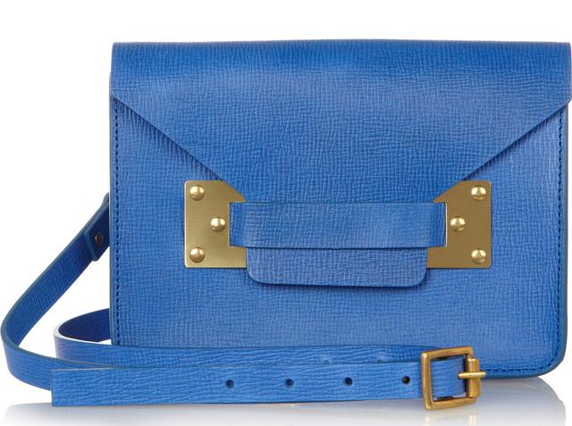 Sophie Hulme Envelope Mini Shoulder Bag