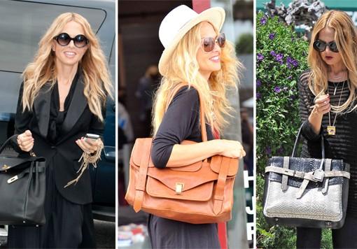 The Many Bags of Rachel Zoe