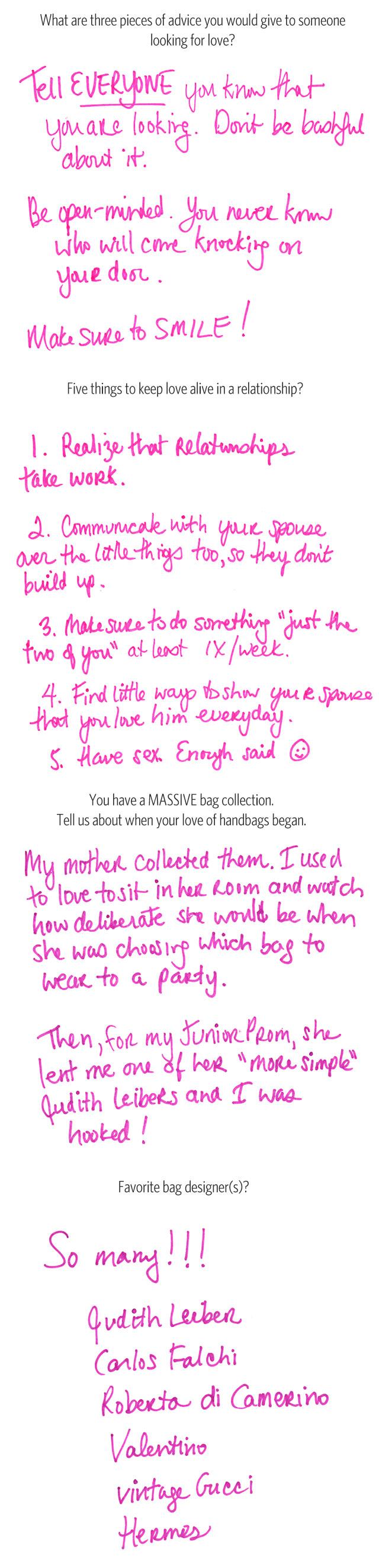 What's In Her Bag: Samantha Daniels (2)
