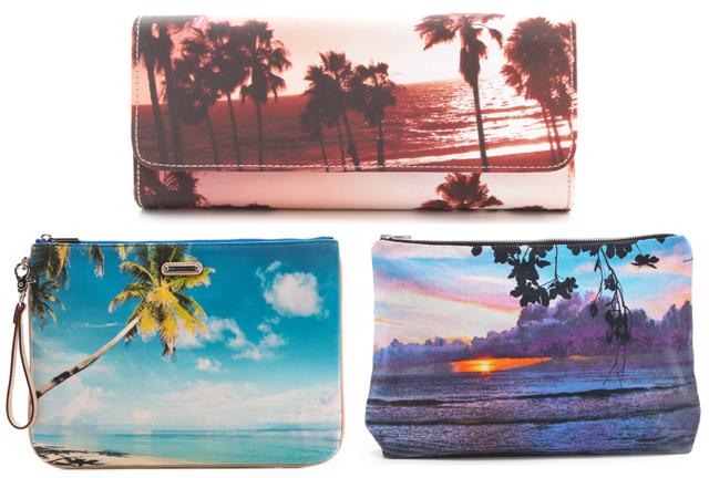 Beach Print Bags