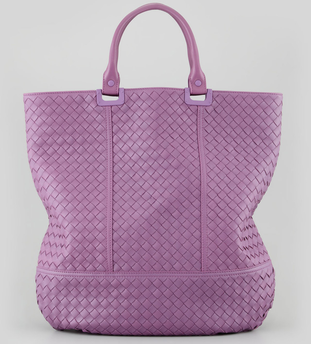 Bottega Veneta North-South Woven Tote