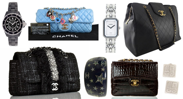 Chanel Bags and Jewelry at Portero