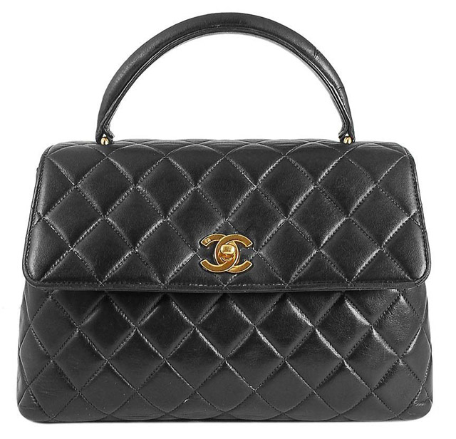 Chanel Quilted Kelly Bag