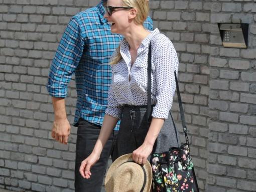 Diane Kruger carries a 3.1 Phillip Lim Scout Floral Shoulder Bag (5)