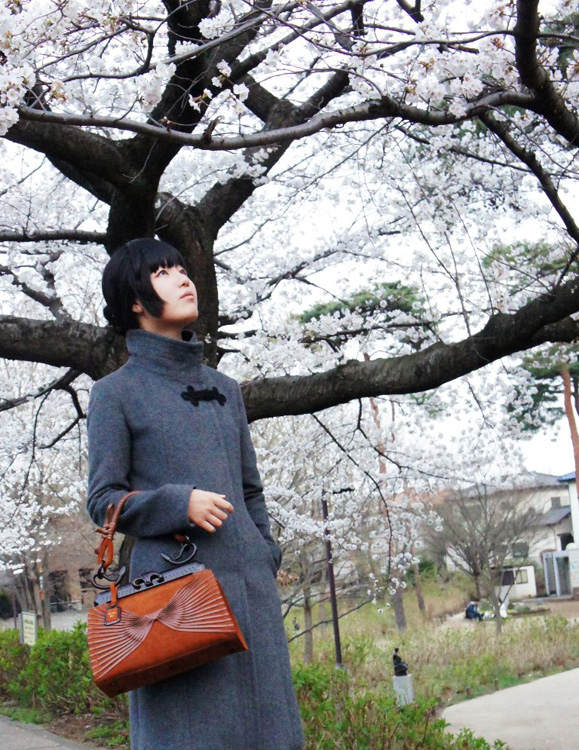 Dior Samurai Bag and Cherry Blossoms Tall