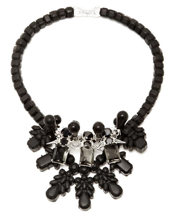 Ek Thongprasert Black and Silver Dagger Necklace