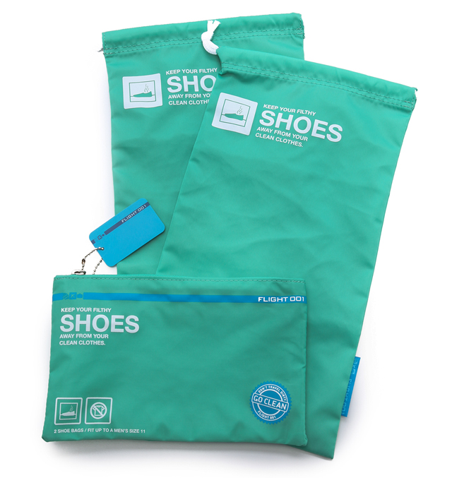 Flight 001 Go Clean Shoe Bag Set