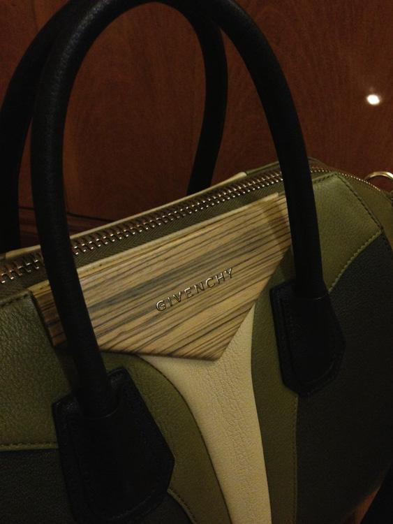 Givenchy Antigona Bag with Wood Detail