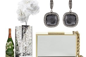 Shop a Gatsby-inspired selection of bags, baubles and bubbly with Harrod's