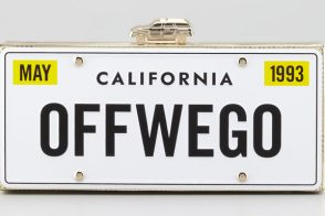Kate Spade Road Trip License Plate Box Clutch