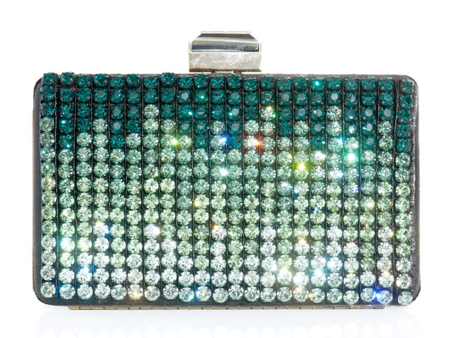Lanvin Crystal-Embellished Box Clutch
