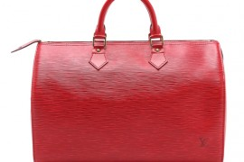Louis Vuitton Epi Speedy Bag from What Goes Around Comes Around