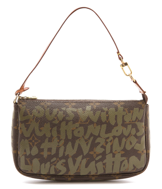 Louis Vuitton Stephen Sprouse Graffiti Pochette Accesoires Bag from What Goes Around Comes Around