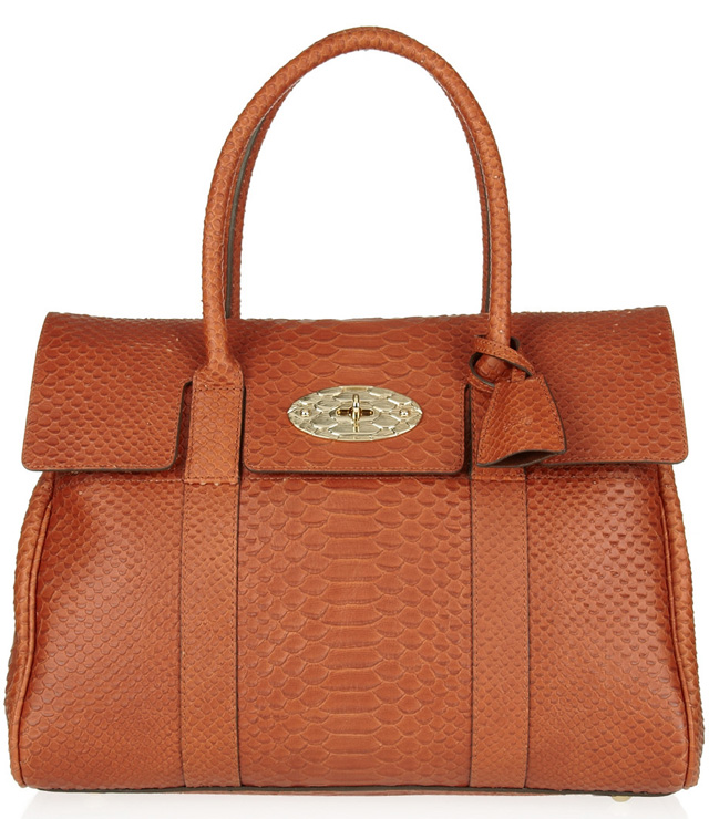 Mulberry Python Effect Bayswater