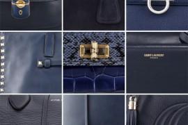 Navy Blue Handbags