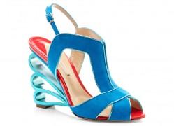 Nicholas-Kirkwood-Suede-and-Scalloped-Heel-Sandal
