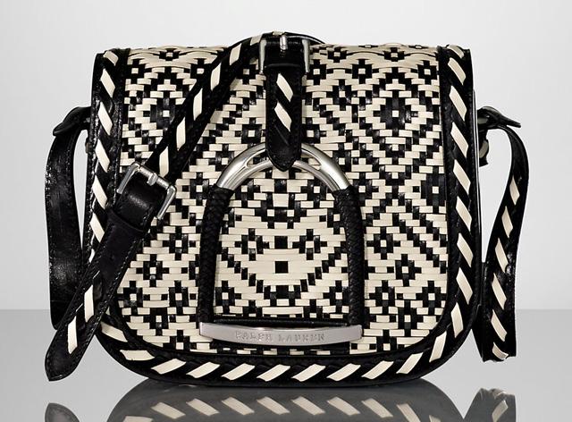 Ralph Lauren Vachetta Huarache Stirrup Bag