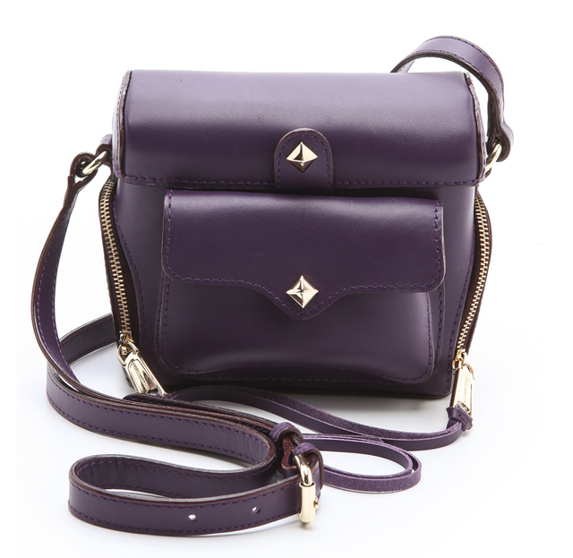 Rebecca Minkoff Craig Camera Bag Purple