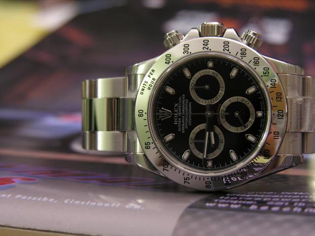 Rolex Stainless Steel Watch