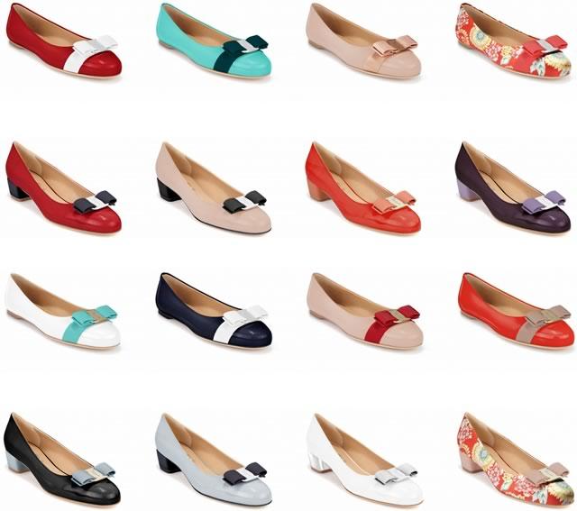 Salvatore Ferragamo Vara and Varina Shoes