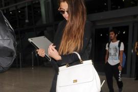 Selena Gomez carries a white Dolce & Gabbana Miss Sicily Bag (5)