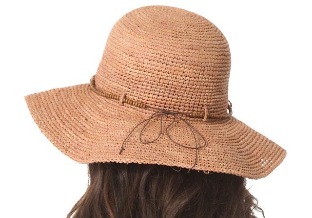 Bop Basics Raffia Hat