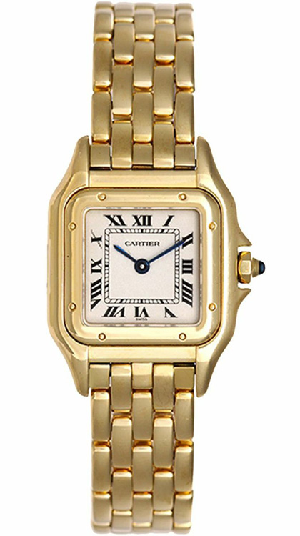 Cartier Panther 18k Gold Watch