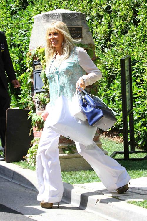 Celebs attend Kim Kardashian's baby shower (2)
