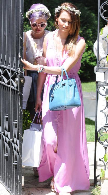 Celebs attend Kim Kardashian's baby shower (11)